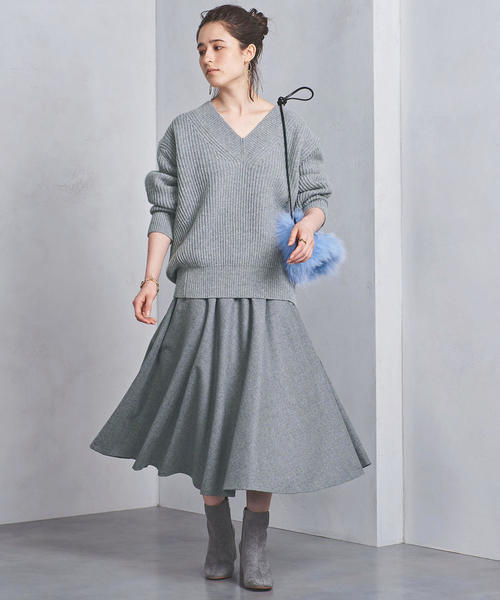 UNITED ARROWSのフレア スカート