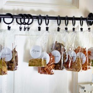 プチプラグッズを使って整理しよう!「冷蔵庫周りの収納技」6つ