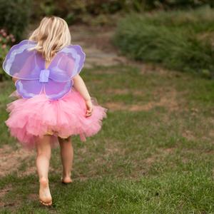 100均素材で縫わずにできる子供服!可愛いチュールドレスの作り方