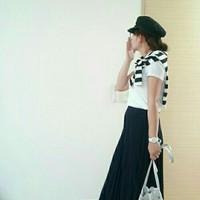 穿出夏天橫條紋的新鮮感♡「可愛小女人」媽媽穿搭6精選♪