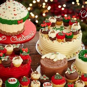 売り切れ必至!キュートなローラズカップケーキのクリスマス限定品♪