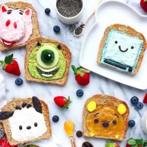 忙しい朝食でもOK♡子供が喜ぶかわいい「アニマルトースト」レシピ