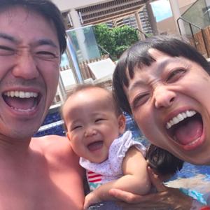 「ウチはウチ!」44歳で出産した金田朋子さんの明るさ全開子育て♡