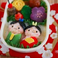 今年はどうアレンジする?ひな祭りのかわいいキャラ弁レシピ集♡