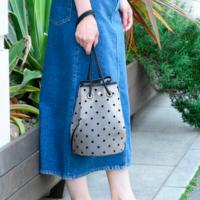 ドットチュールバッグが大人っぽい…♡2018夏注目のアイテムは?