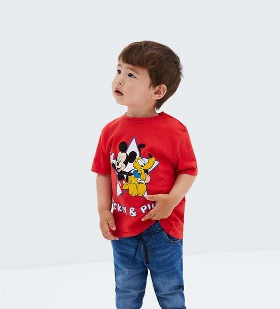 zaraのミッキーマウス® Tシャツ