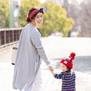 乳幼児ママにロングカーディガンが便利なワケ&おすすめコーデ3選♡