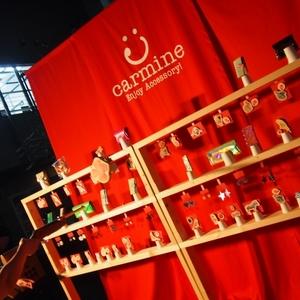 海外でも話題のcarmine!10周年記念の期間限定shopをオープン☆