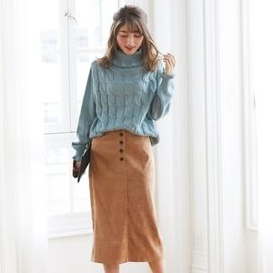 冬にマスト♡ケーブル編みアイテムで楽しむおしゃれコーデ♪