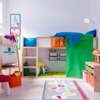 讓孩子能夠安心長大♪時尚可愛的「低設計組合床」♡