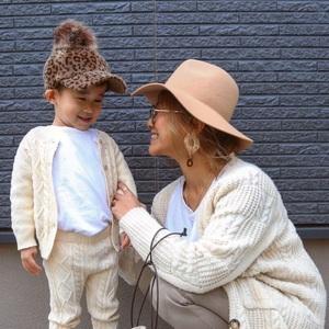 おしゃれママをお手本に♡カッコ可愛い冬の親子リンクコーデ集
