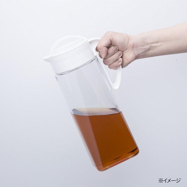 縦にも横にも置ける冷水筒