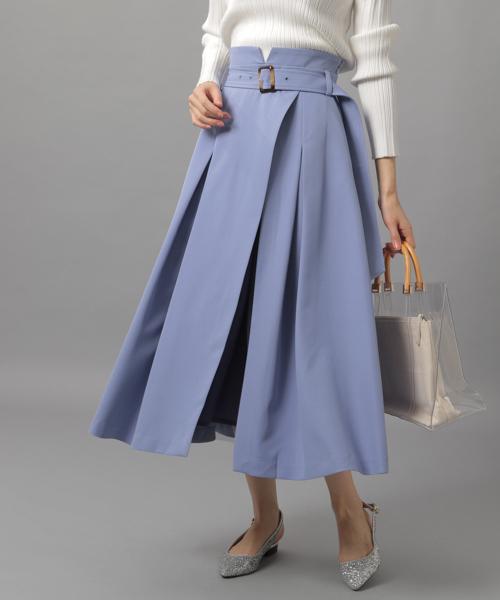 Andemiuのチュールレイヤードスカート