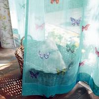 部屋を涼しくおしゃれに♡ベルメゾンの夏用デザインレースカーテン