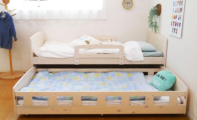 スライド収納式ベッド