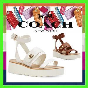 夏の「COACH」はオシャレなサンダル&スニーカーが勢ぞろい♪