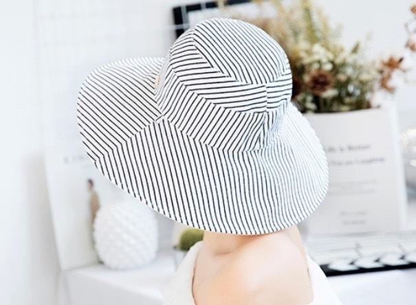 リバーシブル UVカット帽子