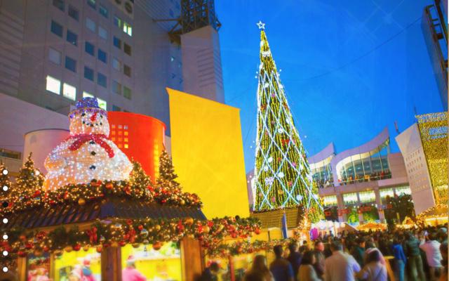 ドイツ・クリスマスマーケット大阪の様子