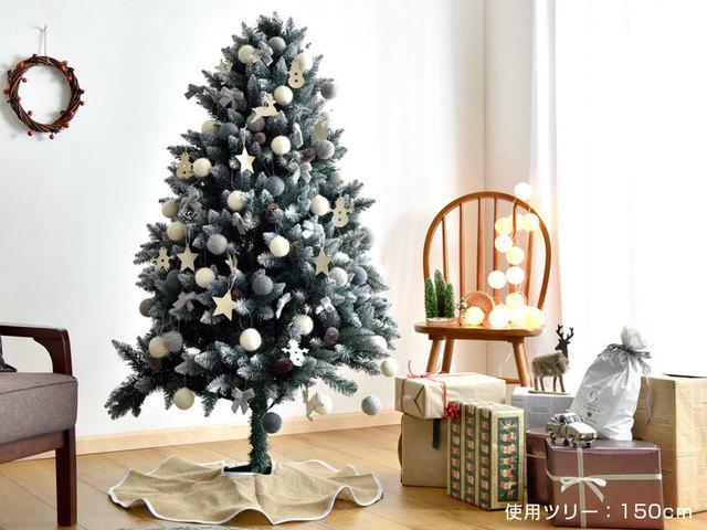 北欧風のクリスマスツリー