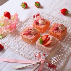 桜フレーバー好きにはたまらない!春気分UPのスイーツレシピ集♡